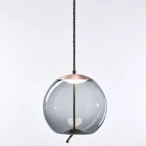 KNOT Sfera Brokis PC1016 pendant lamp smokegrey copper