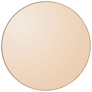 CIRCUM round mirror Amber 110 AYTM