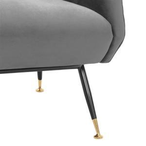 Exile chair grey 5 Eichholtz