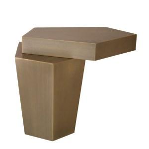 CALABASAS Coffee table brass