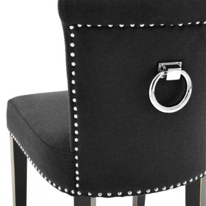 KEY LARGO black dining chair EICHHOLTZ