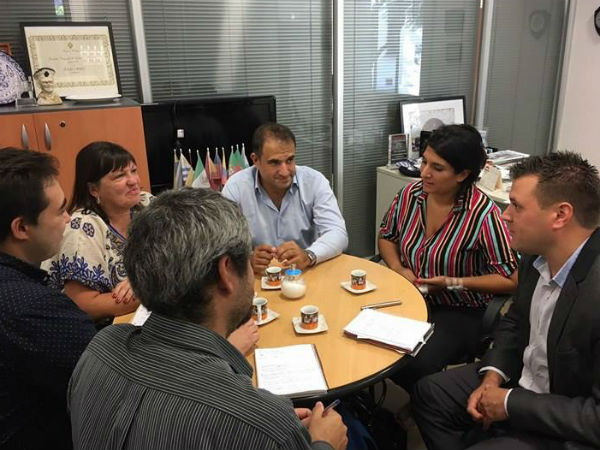 Reunión con el director Nacional de Pluralismo y Multiculturalismo, Julio Croci