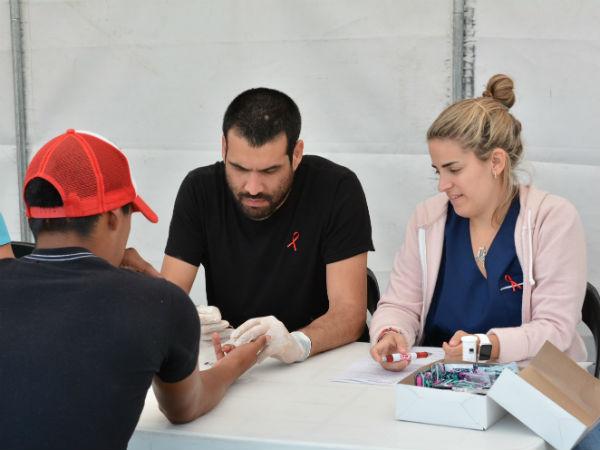 Por el Día Mundial del SIDA, se realizaron más de cien test rápidos para la detección de VIH