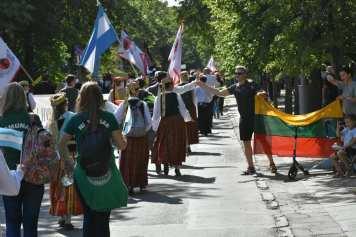 Desfile de Cierre de la Dainų Šventė4