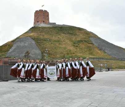 Nemunas en el Castillo de Gediminas2