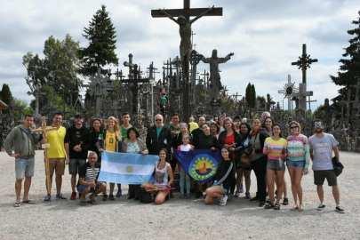 Visita a la Colina de las Cruces