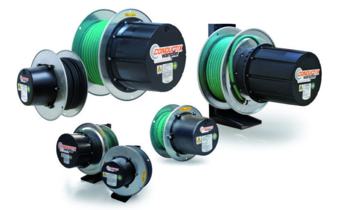 Electra Mining 2018 – a springboard for Powermite to showcase its new range of spring cable reeling drums