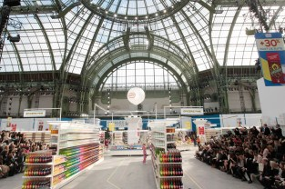 Grand Palais transformed into Chanel Shopping Center