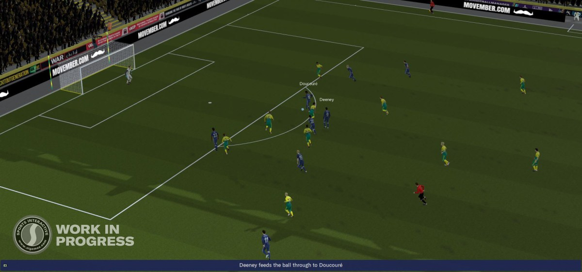 Tấn công (Attacking Movement) - FM20 Match Engine