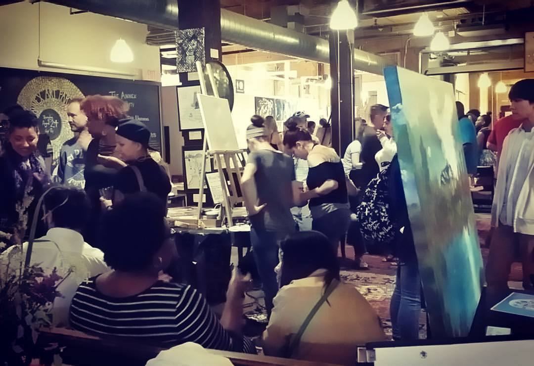 2017 08 25 The Annex Art Party
