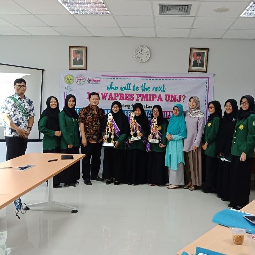 Pemilihan Mahasiswa Berprestasi (Mawapres) Universitas Negeri Jakarta Periode 2018