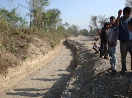 Construction of Irrigation Canal