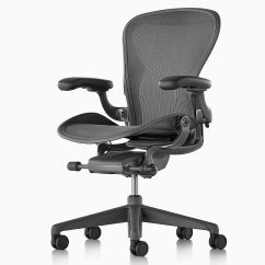 Chair Connected To Desk Padded High Herman Miller Adds Cloud Mobility System Aeron Ergonomic