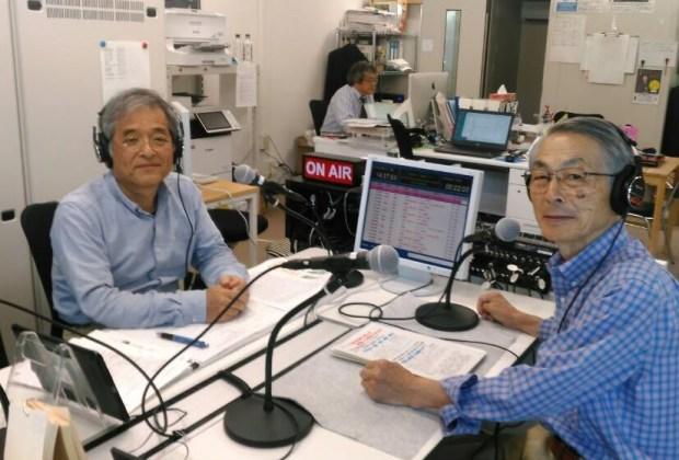 雨森鼎さん(右)と森川稔