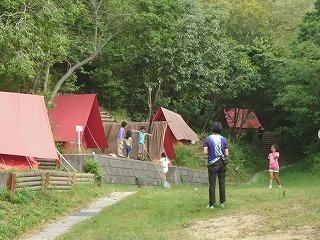 毎年恒例となっているサマーキャンプの様子