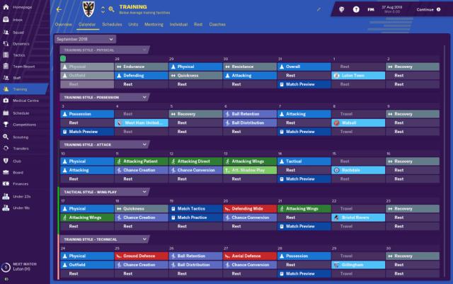 Novidades do Football Manager 2019