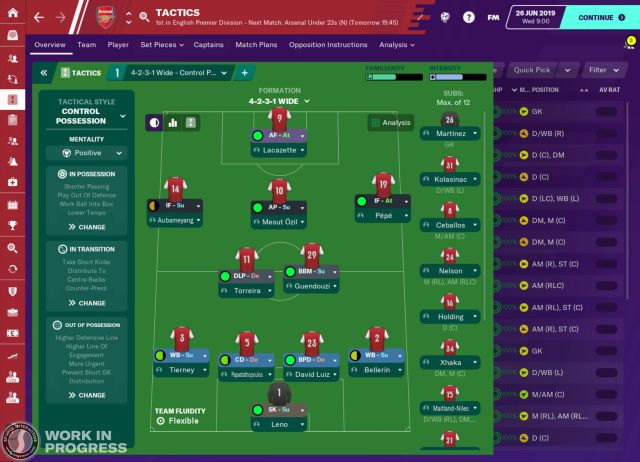 Imagens Football Manager 2020