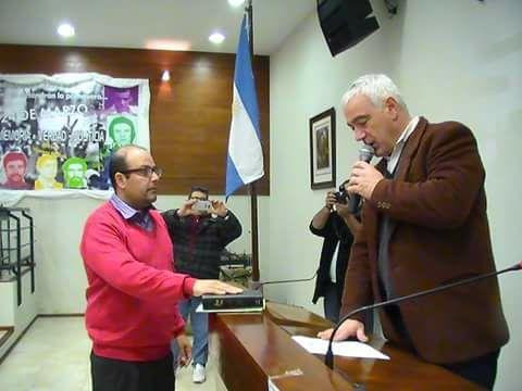 En la próxima sesión del Honorable Concejo Deliberante, asumirá Dario Moyano como concejal