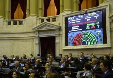 Uno por uno, cómo votaron los diputados el Presupuesto 2019