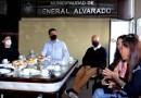 El Ministro Augusto Costa visitó Miramar para fomentar el trabajo de prestadores turísticos y culturales