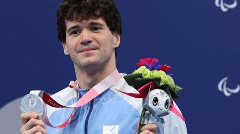 Matias De Andrade Subcampeón Paralímpico de Natación