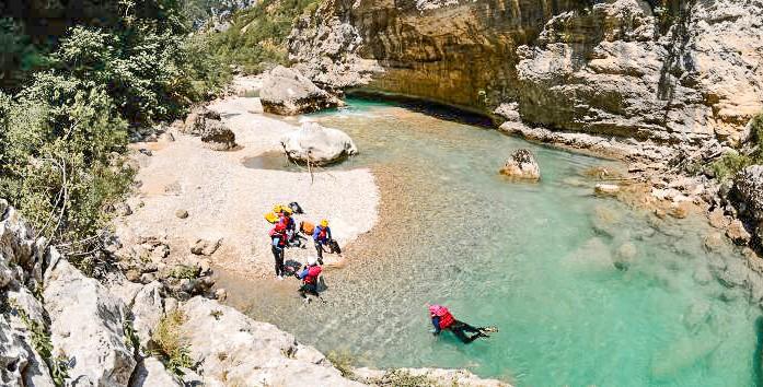Visiter Gorges du Verdon - Aqua trekking