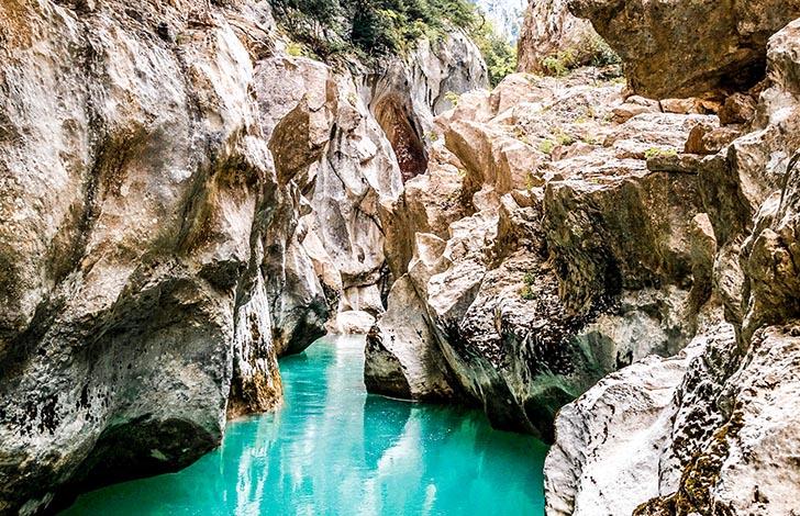 Visiter Gorges du Verdon -- Aqua trekking