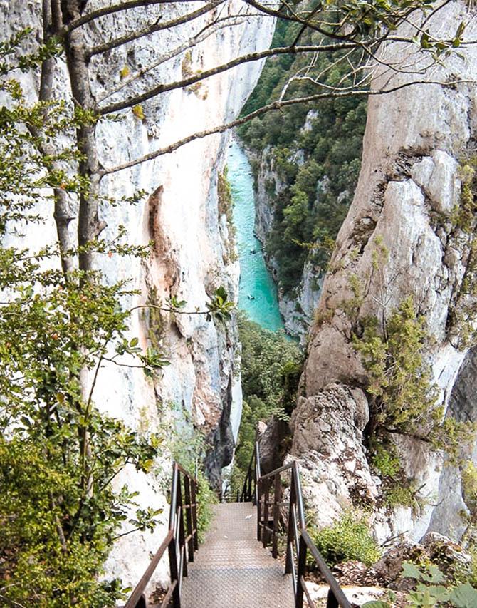 Visiter Gorges du Verdon - randon Blanc-Martel