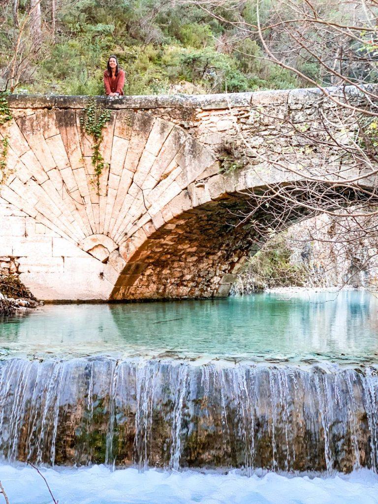 Pont coquille Lourmarin