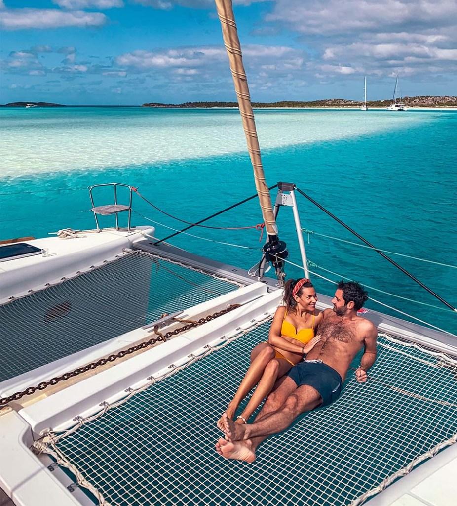 Warderick Wells Cay Catamaran Bahamas