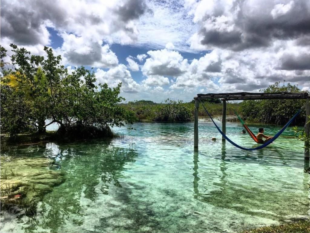 Bacalar Lagune Mexique
