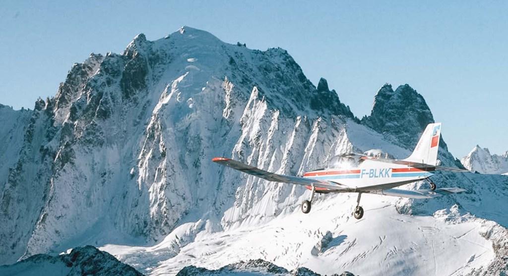 Vol Mont-Blanc