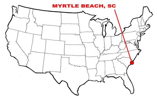 Travel DX Log: Myrtle Beach, SC with 530+ mile tropo!
