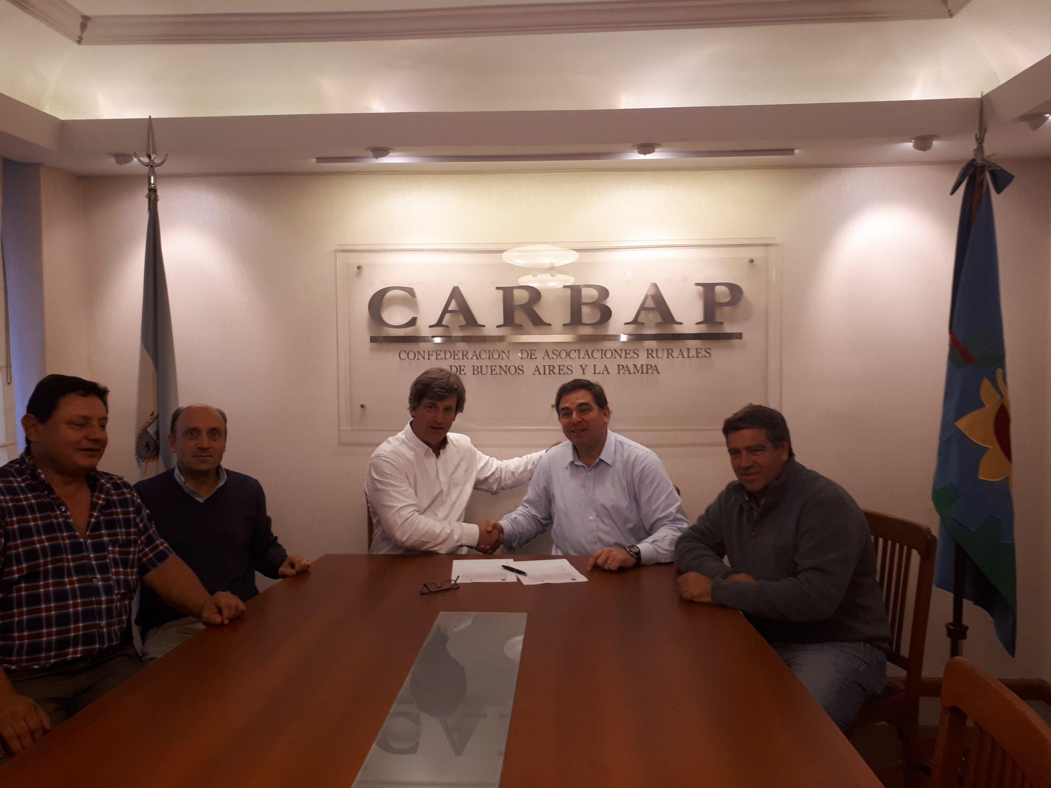 CARBAP firmo un acuerdo marco con CASAFE en pos de mejorar las buenas practicasagrícolas