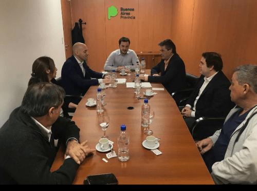 Reunión con el Ministro de Salud Bonaerense por el hospital.