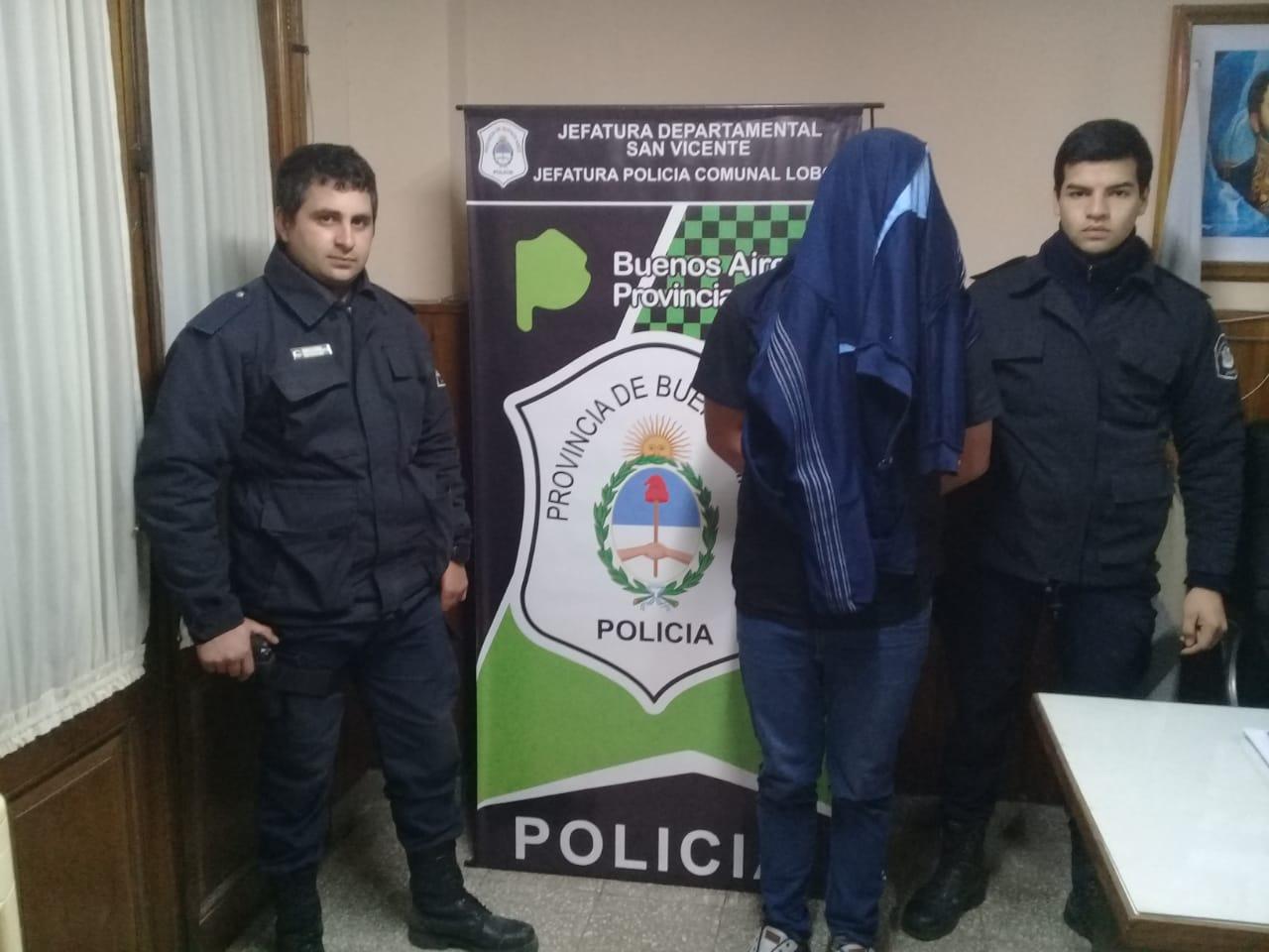 Parte de prensa policial. Un detenido por robo.