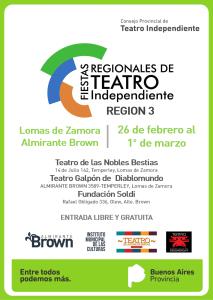 """Participación del Taller de Actuación Lobos, con """"Papá querido"""" y del Circo Espacial, con """"Lali, Ada y la Superrevuelta!"""" en Fiesta Regional de Teatro Independiente-Región 3-2019"""