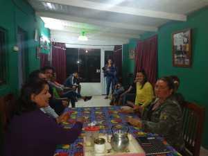 El Precandidato del PJ Grande Lobos en Las Tosquitas.