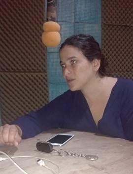 AUDIO. MILAGROS MOYA PRECANDIDATA A INTENDENTA, EN FM REENCUENTRO.