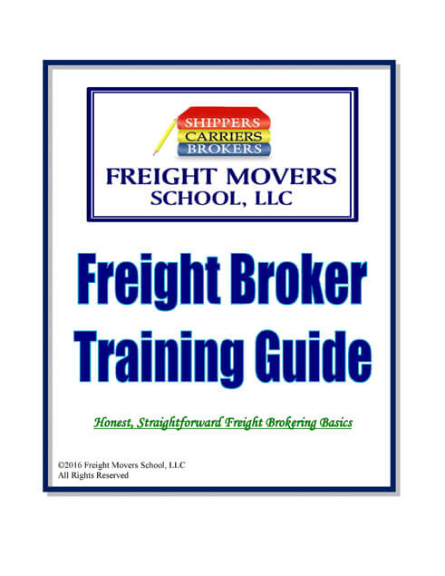 Freight Broker Training Guide  Freight Movers School LLC
