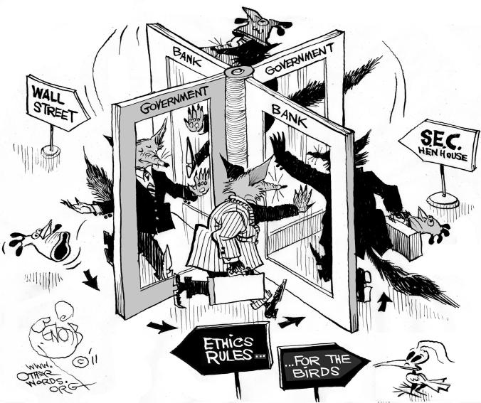 Revolving Door Politics