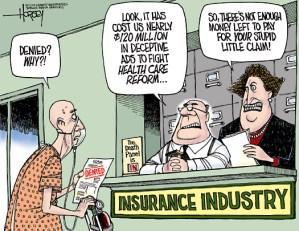 health insurance claim denied