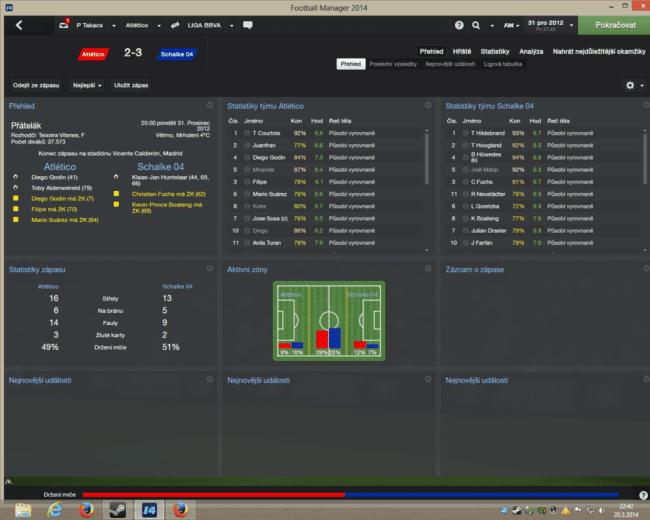 Tefal (Atletico) vs Dejan Arsic (Schalke) - 2:3