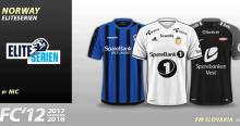 FC'12 Norway Eliteserien kits 2017