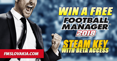 Football Manager 2018 Giveaway