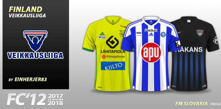 FC'12 Finland – Veikkausliiga 2017