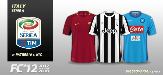 Football Manager 2018 Kits - FC 12 Italy Serie A 2017 18 504c9fc8b