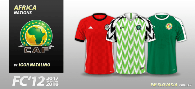 Football Manager 2018 Kits - FC'12 Nations – Africa [World Cup edition]