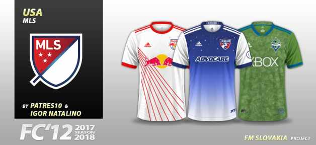Football Manager 2019 Kits - FC'12 USA – MLS 2018