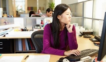 resources asian woman working - Modifying the Graphic View Legend Training Video